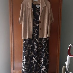 Summer dress with jacket